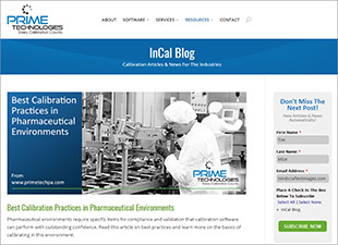 Prime Technologies InCal Blog