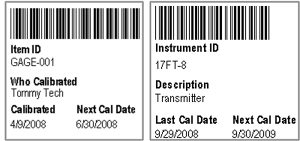 Calibration Barcoding