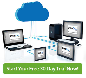 Request a ProCal Direct 30 Day Trial Version