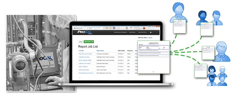 ProCal eView Reporting Flow